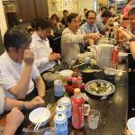 TCAの皆さんと牛肉麺の店で交流会