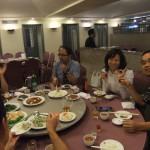 北京ダック専門店「天厨餐庁」で交流会