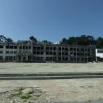 火災と津波に襲われた小学校