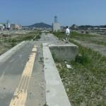 JR南気仙沼駅のホーム