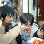 韓国の屋台名物 トッポギ