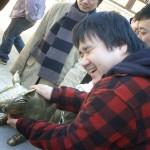 仏国寺の金の豚(イノシシ)